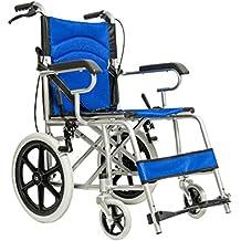 Carrozzina per disabili Sedia a rotelle a spinta assistita con leva freno