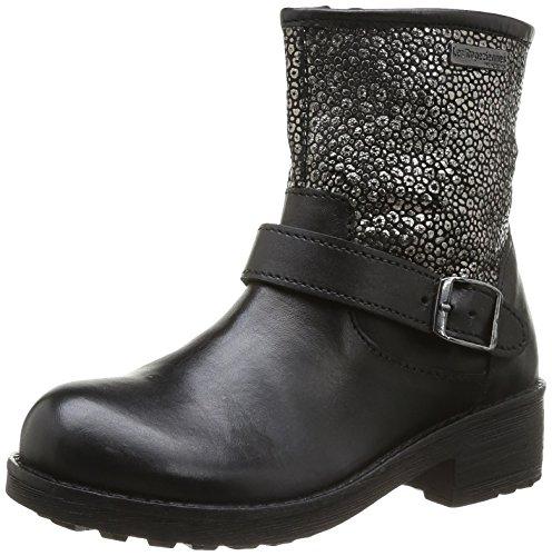 Les Tropéziennes par M. Belarbi Luma, Boots fille Noir (Noir Argent)