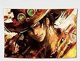 ZGMWDM Arazzi E Tappezzeria,personalità One Piece Bandiera Appeso Cartoon Anime Sfondo Muro di Stoffa Dormitorio Ristrutturazione Studente Camera da Letto Comodino Decorazione Art Tapestry @ D150X200