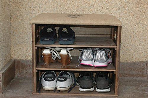 Mueble-Zapatero-de-Madera-con-ASIENTO-Recubierto-de-Tela-Guardar-y-Ordenar-zapatos-zapatillas-deportivas