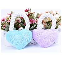 Party Girls S Heart Shaped Toy Pet Cotton Rope Squeaky Toy for Dog Chews Cat Interactive Squeaky Toy