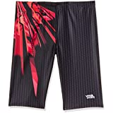 Viva Sports VSJ-003 Adult's Swimming Jammers (Black-Red)