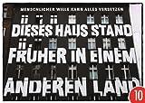 10er-Pack: Postkarte A6 +++ STREET ART von modern times +++ KLASSISCHES FERTIGHAUS +++ TOM BÄCKER