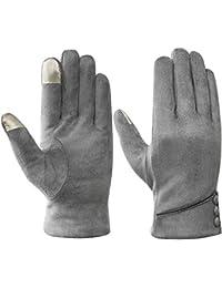 Acdyion Winter Damen Touchscreen Handschuhe Dicke Warm Fleecefutter Tägliche Freizeit Winterhandschuhe