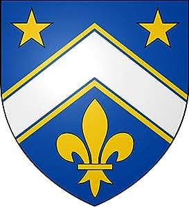 Unbekannt Flagge Martial Asselin Arms | Fahne 0.06m² für Diplomat-Flags Autofahnen