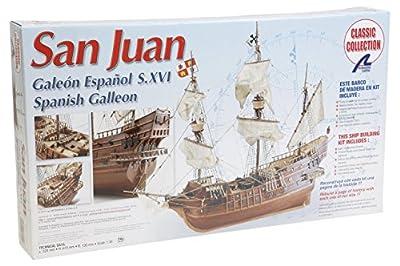 Artesania Latina 18022–1/30San Juan S XVI, eau les véhicules