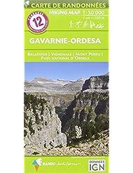 Pyréenées Gavarnie/Ordesa : 1/50 000