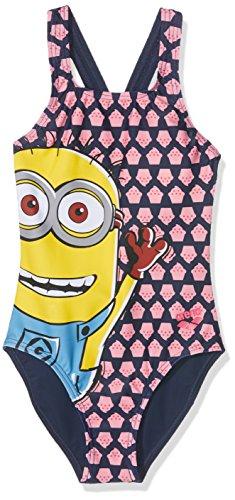arena G Minions Tom Jr Badeanzug für Mädchen, -