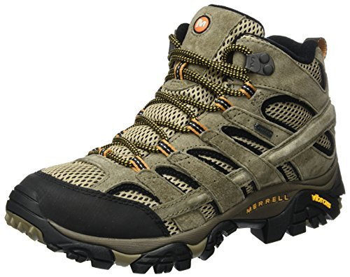5c26df998c7 Merrell Men's Moab 2 Mid Leather Gore-Tex High Rise Hiking Boots, Brown (