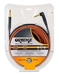Orange Cable Guitare 3m Angle pour guitare Cables jack pour guitare Cables