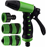 Gocart High Pressure Foam Water Gun With Two Universel Connector For Garden Watering/Cars Vehicles Washing Washer