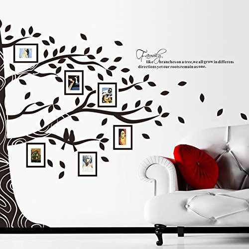 62 Off On Amaonm New Design Photos Tree Wall Decal Home