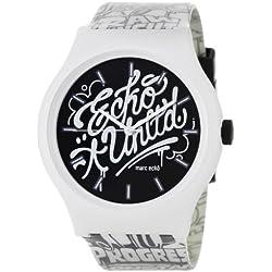 Marc Ecko E06515M1 - Reloj de pulsera para hombre, negro/plata