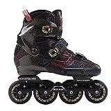 XIAOYUTOU 2019 Crazy Carbon Fiber Professionelle Slalom Inline Skates Erwachsene Roller Free Skating Schuhe Sliding Patines Ähnlich wie bei SEBA IGOR