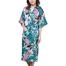 waymoda Donna Luxury raso di seta pigiama