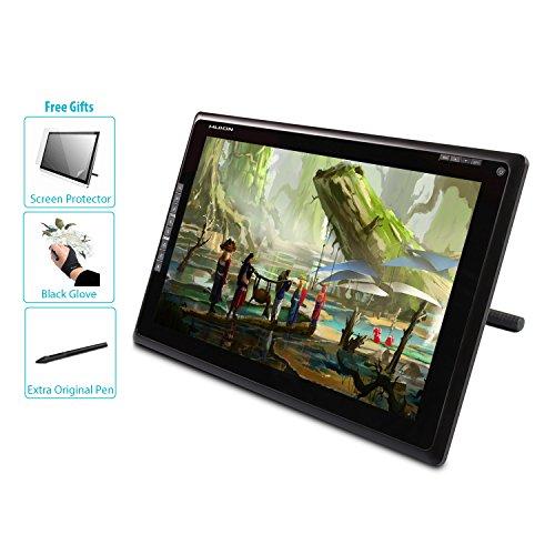 HUION GT-185 Tableta Gráfica con Pantalla TFT y Monitor -2048 Niveles