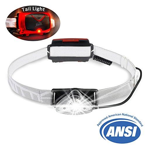 Preisvergleich Produktbild HiHiLL Stirnlampe,  Wasserdicht Außenleuchten,  Outdoor Sports Headlight,  Kopflampe fürs Radfahren Camping,  Stirnlampe LED,  LED Wiederaufladbar