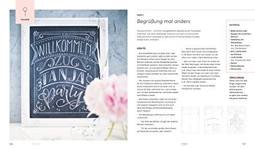 Handlettering Alphabete: Schritt für Schritt zur eigenen Schönschrift – 2 Maxi Poster mit allen Schrift-Vorlagen zum Abpausen - 4