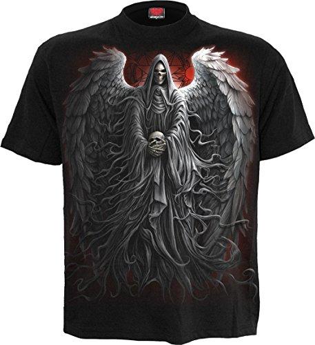 Spiral Herren T-Shirt Death Robe Schwarz