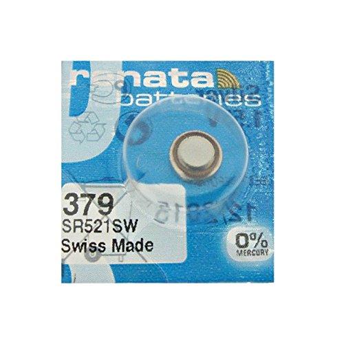Renata 379 SR521SW: Pila 1.55V para relojes