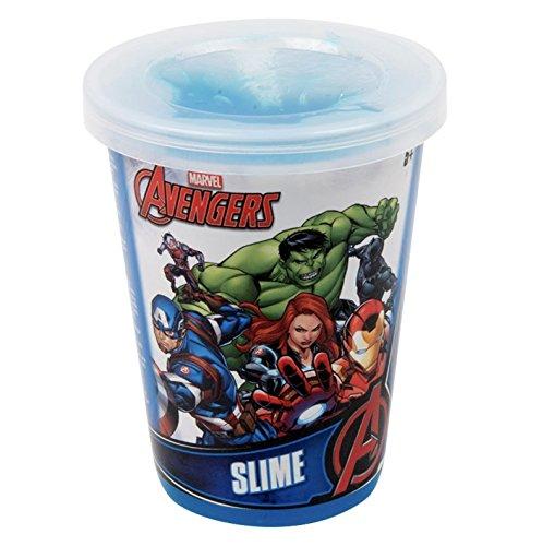 Little Helper wdlbns-Avengers Offizielles Lizenzprodukt Avengers Schlamm in einem Topf 7,5x 6x 6cm Durchmesser, blau-3Jahren +