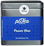 Pi Tea Power Chai Dose, Schwarzer Tee, Teestation, natürlich und vegan, 2er Pack (2 x 75 g)
