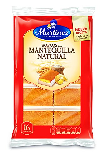 Martínez - Sobaos Con Mantequilla Natural (16 unidades), 320 g