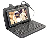 #4: I KALL N4 (1+16GB) 4G VOLTE Calling Tablet With Keyboard - black