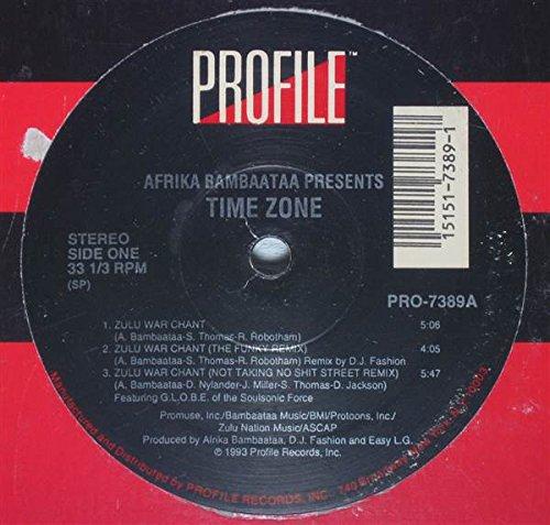 Afrika Bambaataa - Time Zone - Profile (Vinyl Bambaataa Afrika)