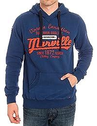 vasta selezione di 51b27 fe0e8 marville felpe - Uomo: Abbigliamento - Amazon.it