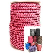 30m Rolle 8 mm \ POLYPROPYLEN-SEIL\ PP-Seil \ verschiedene Farben Flechtleine Tau-werk Reepschnur Festmacher Schnur Universalseil