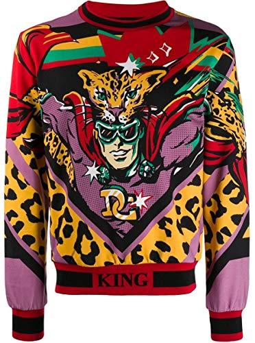 DOLCE E GABBANA Herren G9og4thh7lkhkj60 Multicolour Baumwolle Sweatshirt