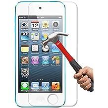 Funnytech_ - Cristal templado para Ipod Touch 6º Generación. Protector de pantalla transparente para Ipod Touch 6º Gen. vidrio templado antigolpes (Grosor 0,3mm) – Kit de instalación incluido