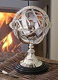 Armillarsphäre Atlas Chrom Globus Deko Impressionen Home Interiors Shabby Chic
