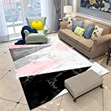 djjnp Filzteppich Abnehmbarer Teppich Kinderzimmer Unterhaltungsfläche Teppich Babyspielmatte Wohnzimmer Kindergarten Unschlagbare Waren - 160X230Cm_Carpet