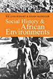 Social History & African Environments (Series in Ecology & History)