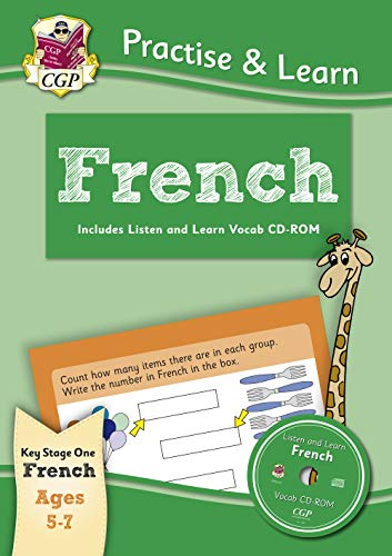 New Practise & Learn: French for Ages 5-7 - with vocab CD-ROM: French ages 5-7