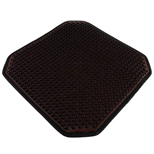 Tubayia Massage Holzperlen Autositz Sitzkissen Sitzauflage Sitzpolster für Auto, SUV, LKW