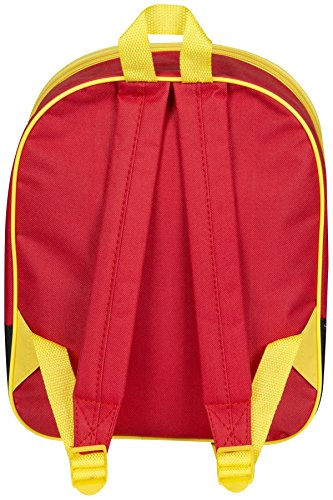 "Image of Children Kids Disney Pixar Cars 3D Effect ""Lightning Mcqueen"" Red Junior Backpack"