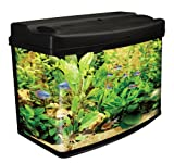 Interpet Fish Pod Glass Aquarium Fish Tank - 64 L