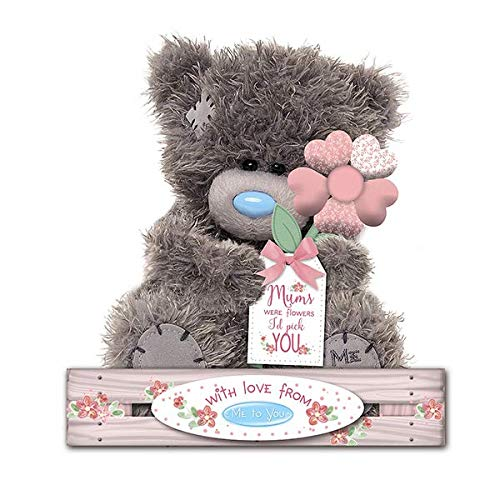 Me to You - 7'' Mum Teddy - If Mums' were flowers I'd pick You - Holding Flower