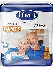 Liberty Adult Pull Ups, X-Large -10's Pcs (96-165 cms || 38-65 inch)