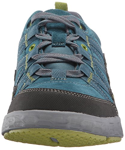 Rockport Cobb Hill Women's Freshexcel Waterproof Flat, Teal, 10 M US Teal