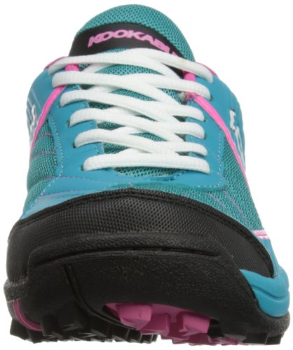 KOOKABURRA Damen 2013 Reef Hockey Schuhe türkis - Turquoise/Orange