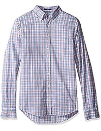 GANT Men's Classic Oxford Plaid Shirt
