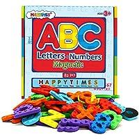 Juguetes Didácticos, Letras y números magnéticos para niños, educando niños con diversión, innovando la mente de los bebés, 82 piezas