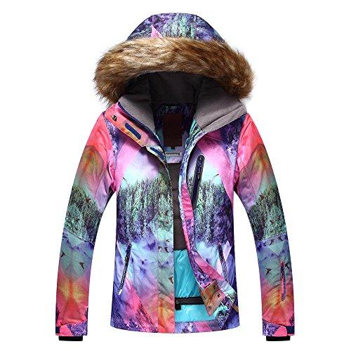 gsousnow neue ski - anzug, der wind, warm, haare, große kragen, ski - anzug, der anzug, anzug, kostenlos,M,003