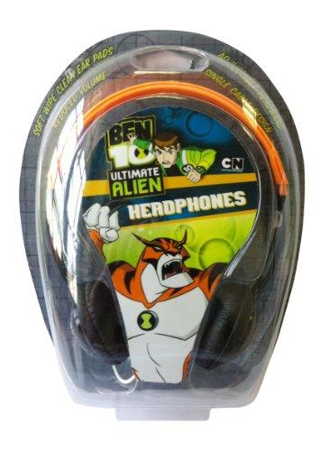 Image of Little Star Creations B10H Ben 10 Alien Force Kids Headphones