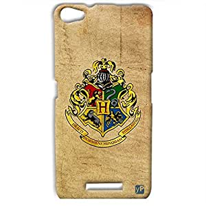 yP Harry Potter - Hogwarts Houses Design Hard Back Case Cover for Micromax Canvas Hue 2 A316