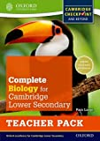 Complete Biology for Cambridge Secondary 1 Teacher Pack: For Cambridge Checkpoint and Beyond (Cie Checkpoint)